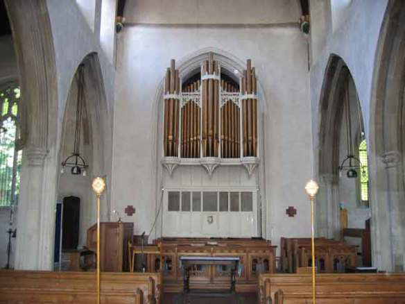 The Organ from St Nicholas' Church